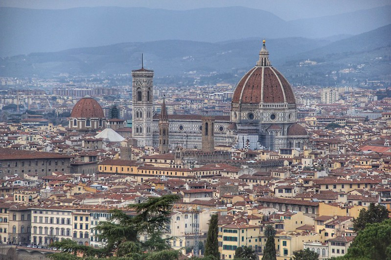 View from Basilica di San Miniato al Monte