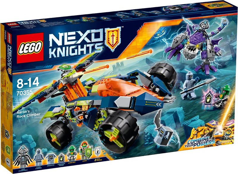 LEGO Nexo Knights Estate 2017 - Aaron's Rock Climber (70355)
