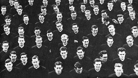 Trainee priests
