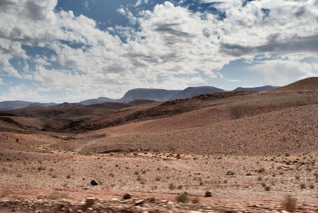 Un bout de Mars au Maroc près de Ouarzazate.
