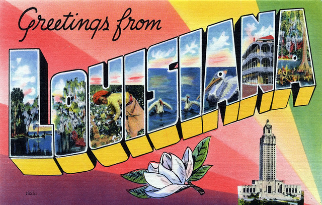 Louisiana postcard | States I've Been To | Pinterest | Love ...