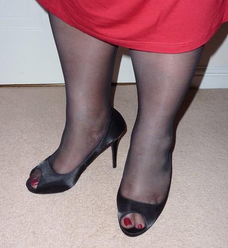 Grey Dress Shoe Laces