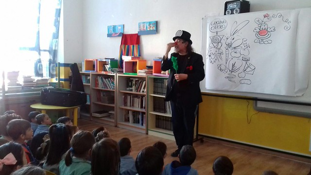 Taller de cuentacuentos con Gustavo Otero