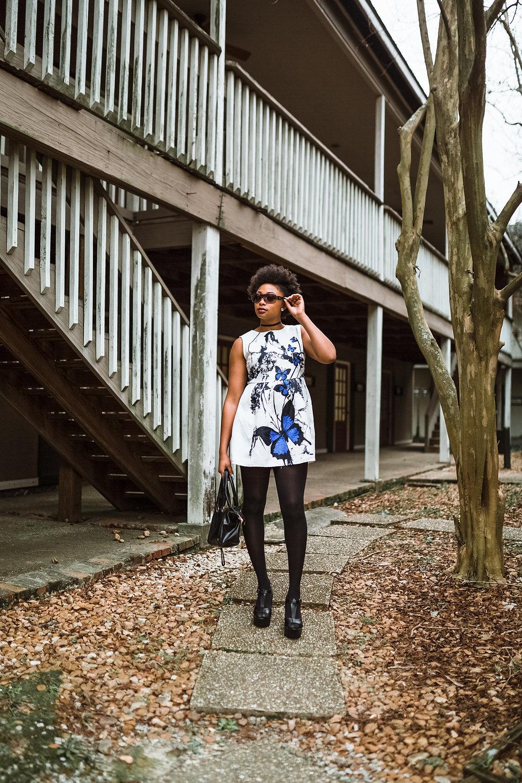 how to style a mini dress, the beauty beau