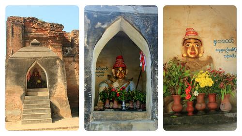 Buddhas at Tharabar Gate