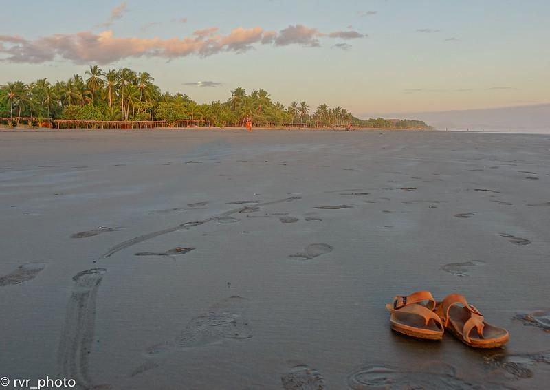Atardecer Playa Las Lajas, Panamá