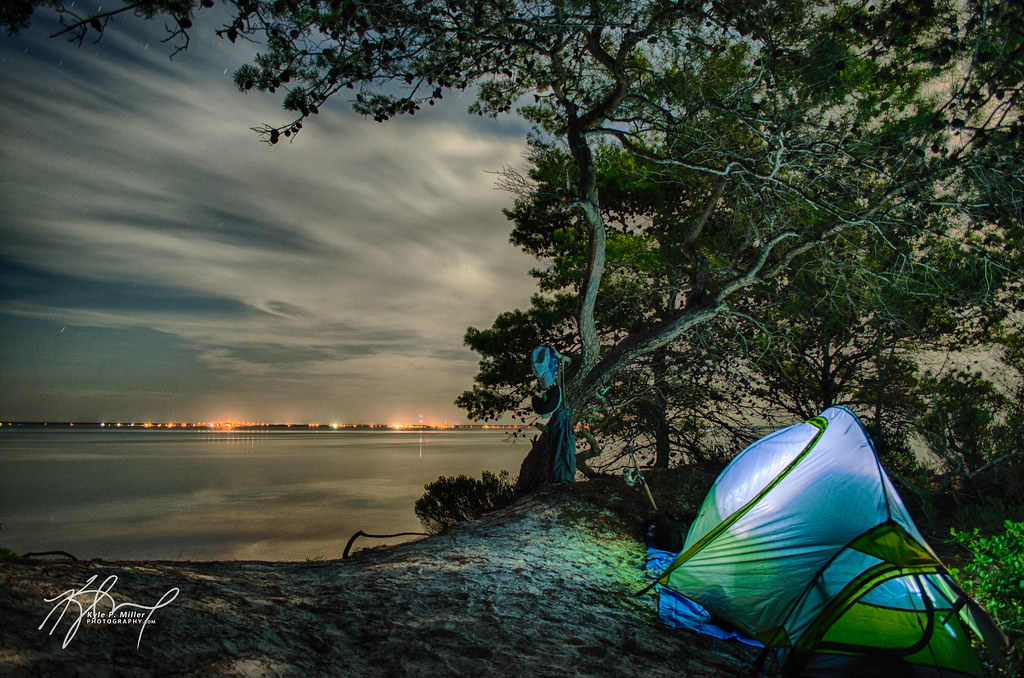 ... Primitive Camping At St. Joseph Peninsula State Park | By Kyle P.  Miller Photography