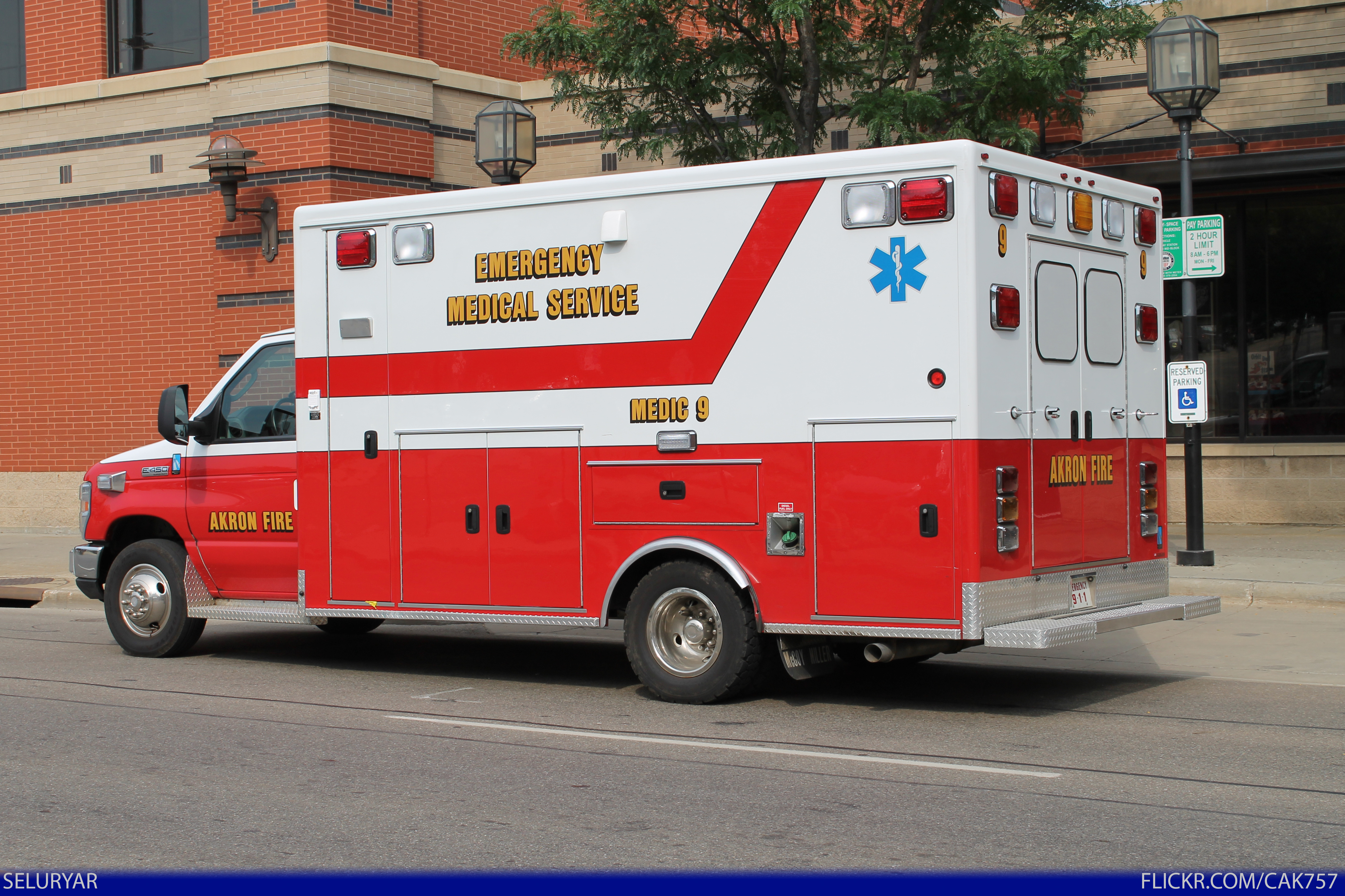 AFD Medic 9 Ford E-450 Ambulance