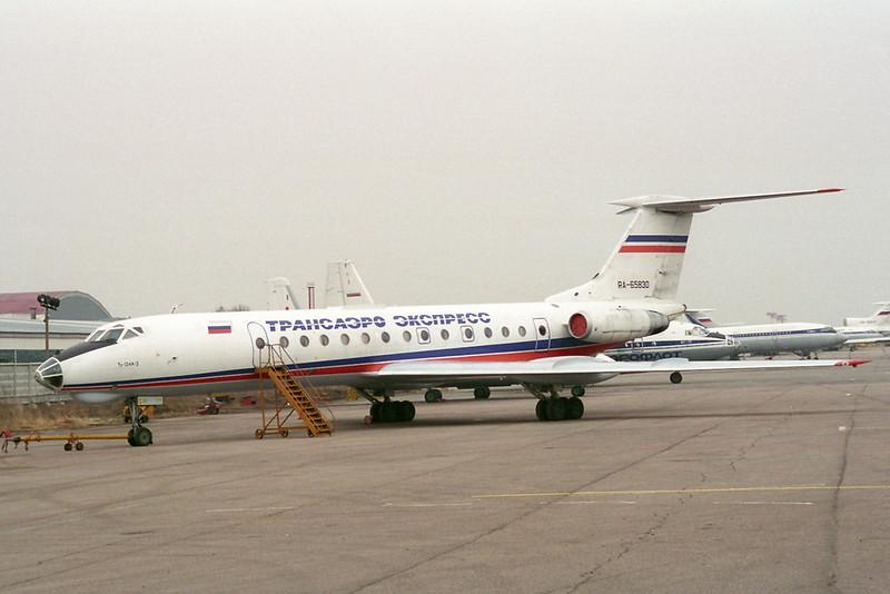 RA-65830 Tupolev TU-134A-3 Transaero Express