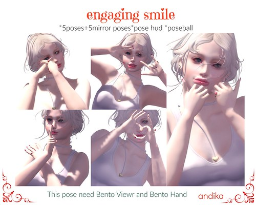 abdika bento posepack[engaging smile]AD
