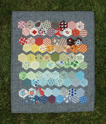 Plain & Fancy Mini Quilt | by fabricmutt