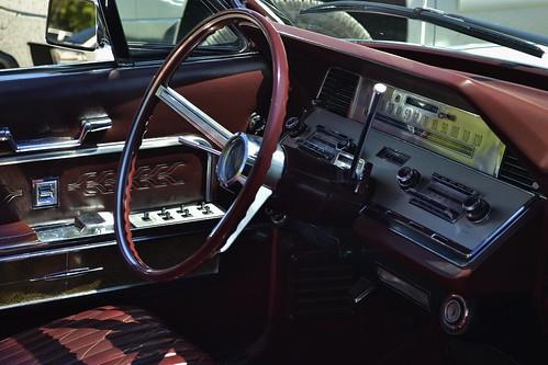 1966 Lincoln Continental 4 Door Convertible Interior Flickr