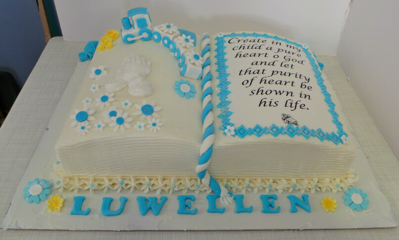 Boys Bible Birthday Cake Willi Probst Bakery Flickr