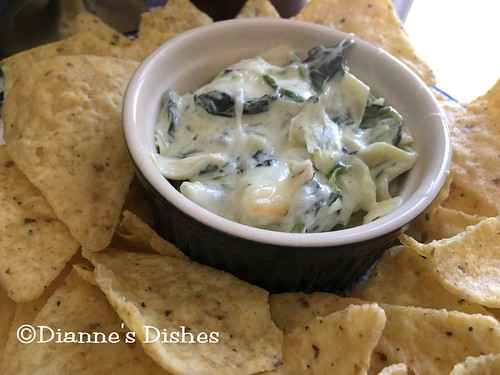 Spinach Artichoke Dip | by Dianne's Dishes