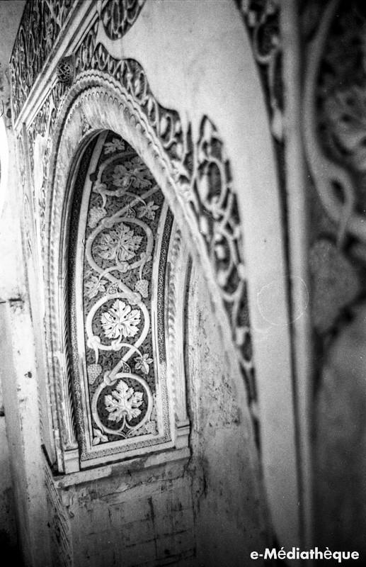 Arco de los Pavones en el convento de la Concepción Francisca en Toledo en agosto de 1965. Fotografía de Jacques Revault © e-Médiathèque | Médiathèque SHS de la Maison méditerranéenne des sciences de l'homme