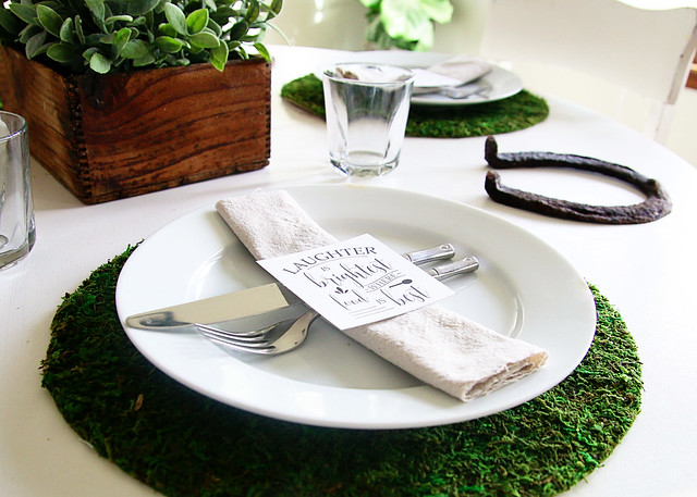 Moss Charger Plate