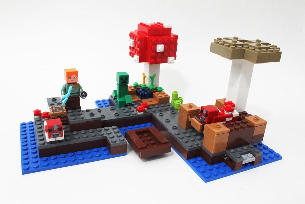LEGO Minecraft The Mushroom Island (21129)   Read more here:…   Flickr