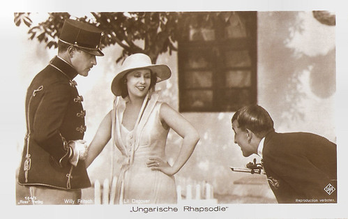 Willy Fritsch, and Lil Dagover in Ungarische Rhapsodie (1928)