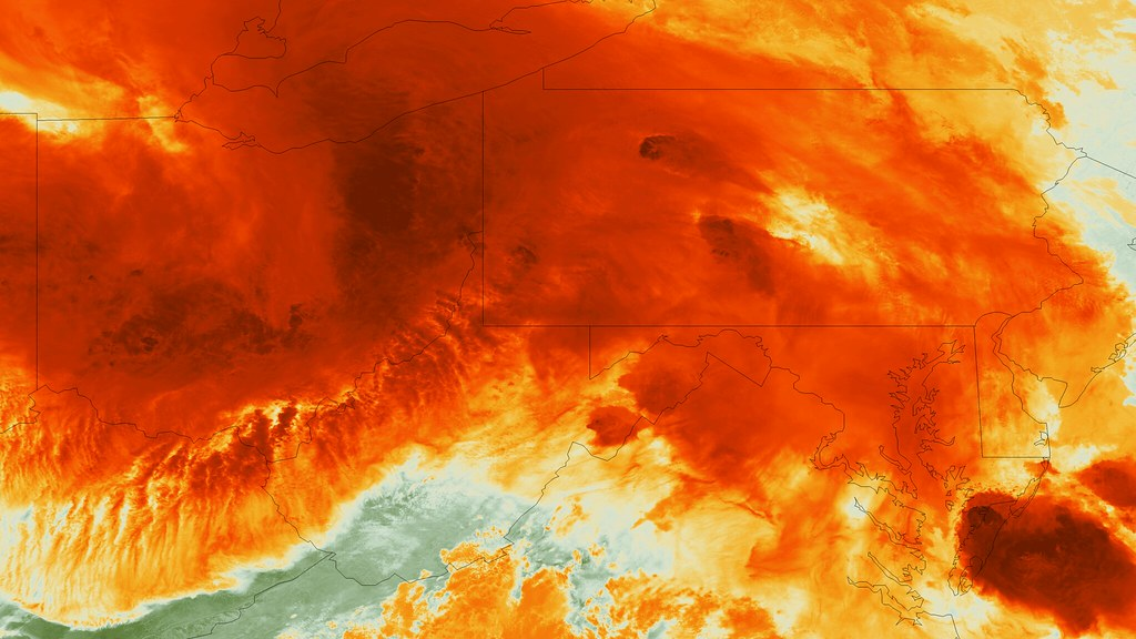 Detailed Satellite Imagery Of Severe Storm A Powerful Stor Flickr - Detailed satellite imagery