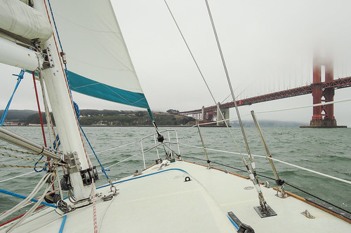 Sailing on San Francisco Bay | by Ed Suominen