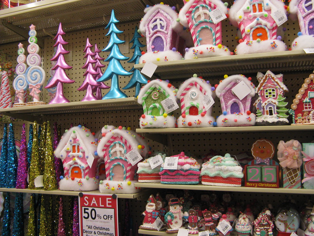 candy landy at the hobby lobby by amber e love nest - Candy Christmas Decorations Hobby Lobby
