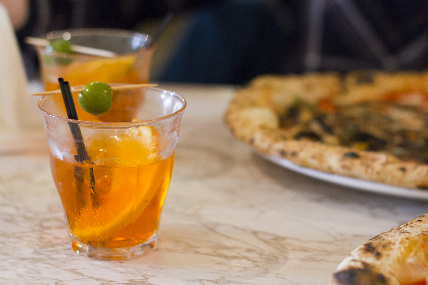 Aperol Spritz - Rudy's Pizza Manchester