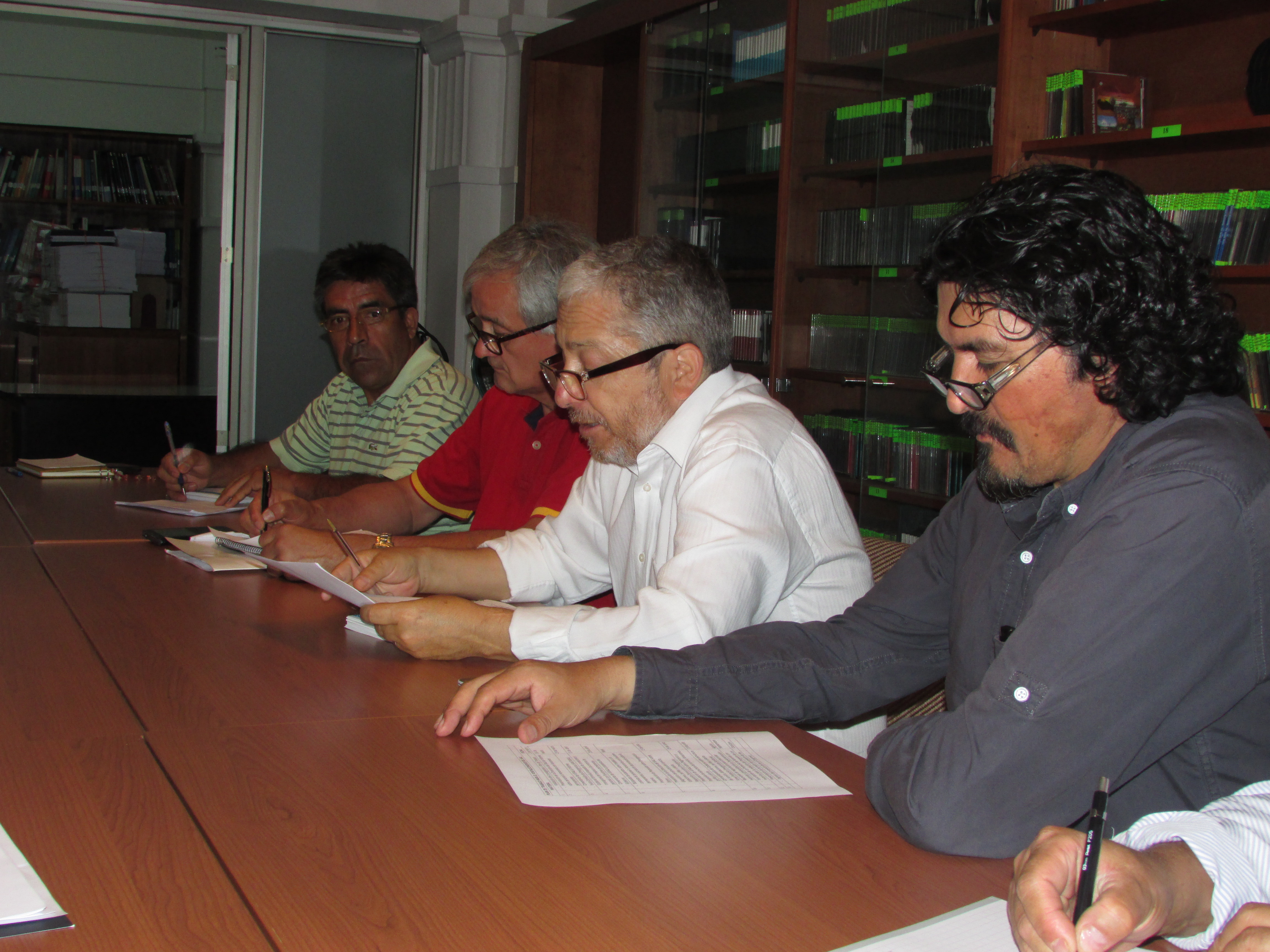 """Inicio al """"Plan de Trabajo"""" entre AFSAG, DIPRES, SAG y Ministerio - 02 Marzo 2017"""
