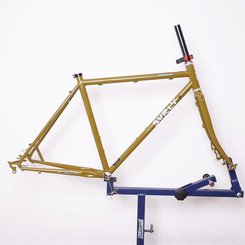 SURLY Straggler Frame set Painted by Swamp Things.