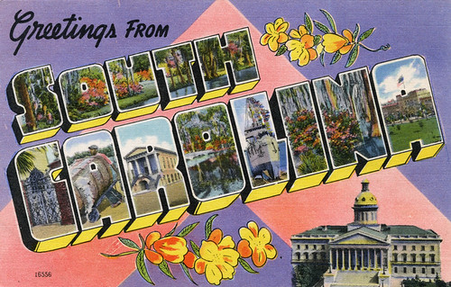 letter a forms greetings from south carolina large letter postcard flickr 16556 | 8877347706 7c88b62517