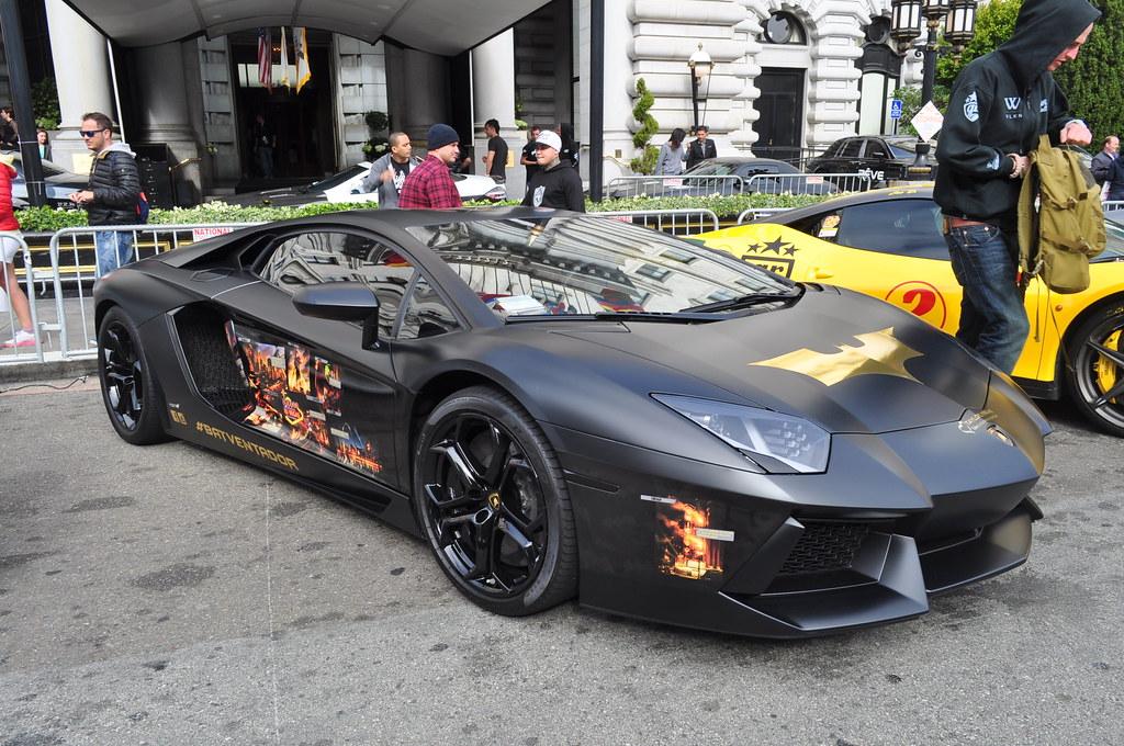 san batventador lamborghini aventador lp 700 4 matte black gold rush rally 2013 san - Lamborghini Aventador Gold And Black