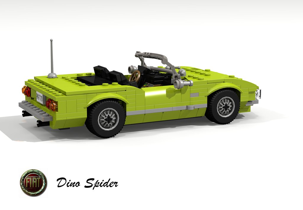 Fiat Dino Spider 24 V6 1969 Fiat And Dino Whats Going Flickr