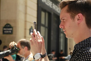 Smartphones at Fashion Week | by melissa.barrausme