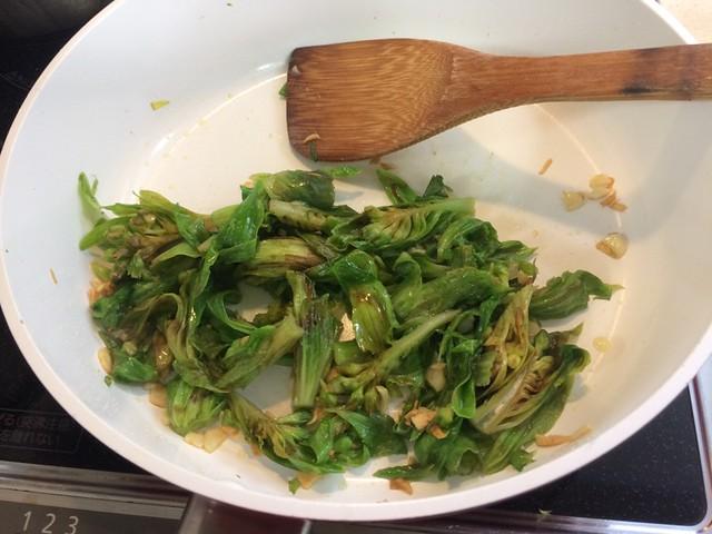"""pasta with """"HUKINOTOU"""""""