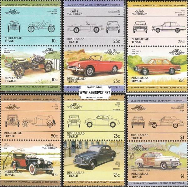 Známky Tuvalu - Nukulaelae 1985 Staré automobily, Mint NH