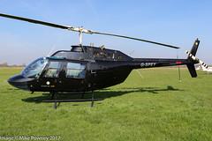 G-SPEY - 1981 Agusta built Bell 206B Jet Ranger II, visiting Barton