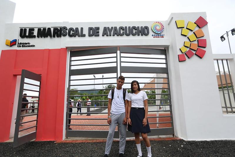 Inauguración UE siglo XXI Mariscal de Ayacucho
