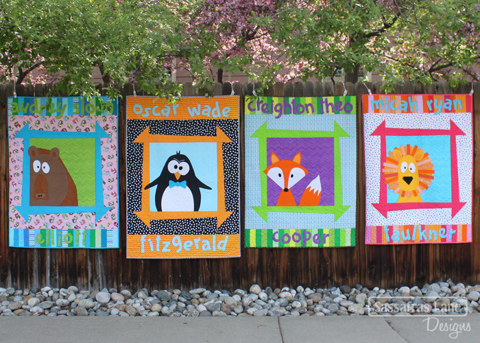 Zoey's Zoo Quilt