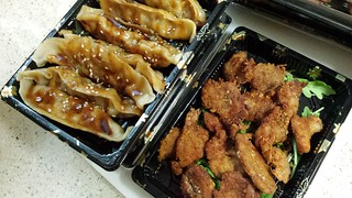 Pan-Fried Dumplings and Taiwanese Fried Chicken from Kuan Yin