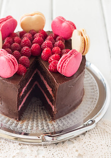 Chocolate Raspberry Layer Cake Penzeys