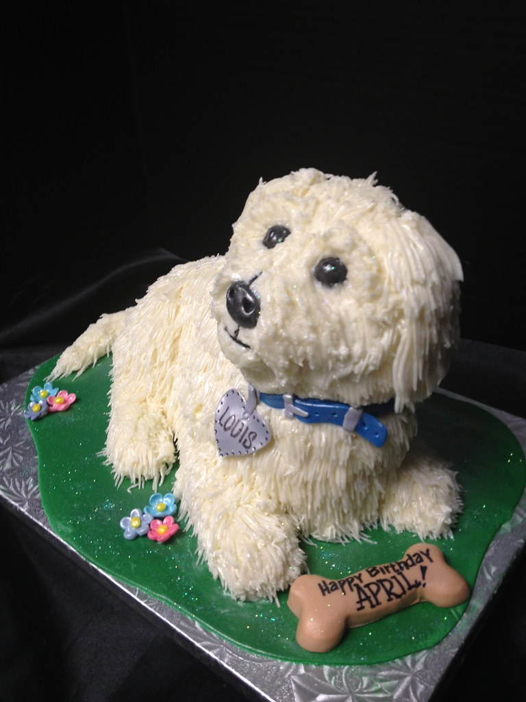 Dog Shaped Cake Annie Hall Flickr
