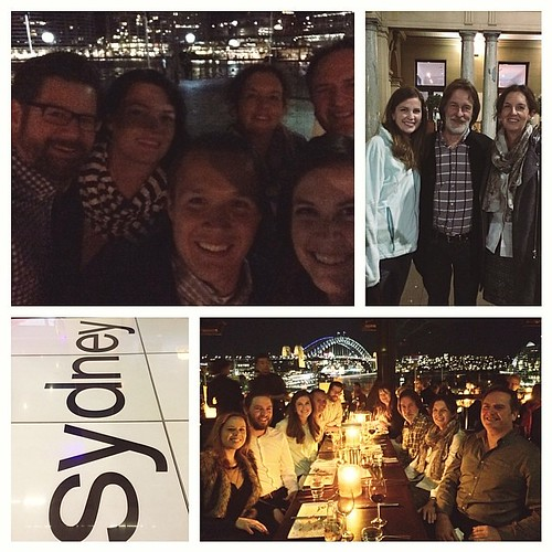 An absolutely perfect last night. Dinner at Cafe Sydney with PK Fabrics. Gorgeous view, great company! Thank you Patrick and Di for taking such great care of me! #quiltabout #redletteraustralia | by croskelley