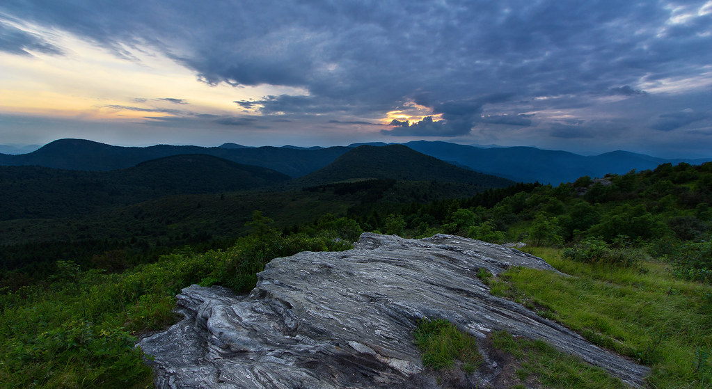 Black balsam knob sunset sunset from black balsam knob alo flickr black balsam knob sunset by pvarney3 publicscrutiny Image collections