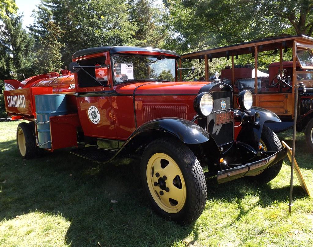 Greenfield Village Old Car Festival: Standard Oil, 1931 Fo… | Flickr