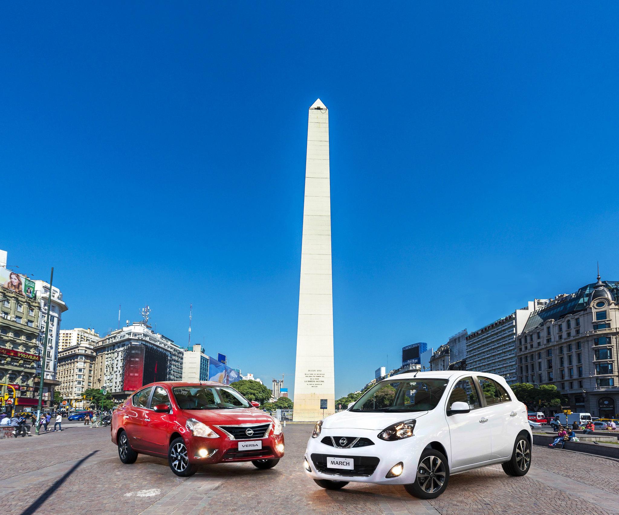 Nissan March e Versa produzidos nacionalmente chegam à Argentina