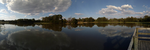 Jell Park Lake Panorama