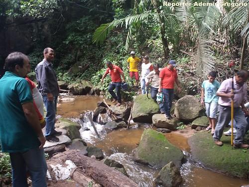 Sohidra realiza estudo no Riacho Ipuçaba