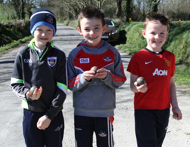 Boys U8 at Phale Road Ballineen March 26 Travis O'Sullivan, David Russell, Tom McCarthy