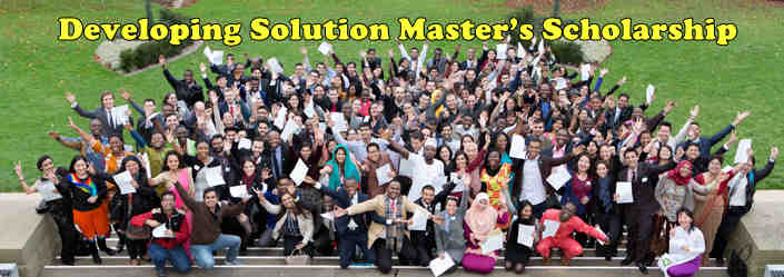Developing Solution Master's Scholarships