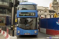 Wrightbus NRM NBFL - LTZ 1524 - LT524 - Bud Light - Stoke Newington 73 - Arriva London - London 2017 - Steven Gray - IMG_8227