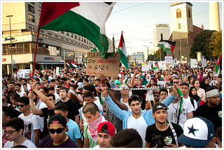 #GazaUnderAttack demo @ Berlin
